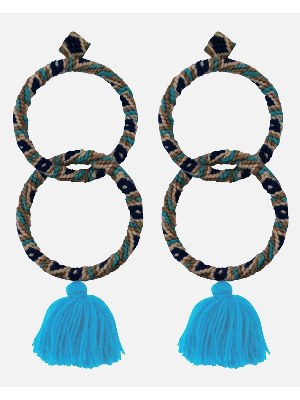 Maggie Earrings Blue