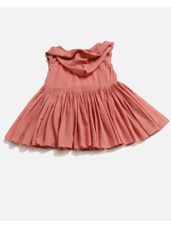 Mini Pleated Djellaba