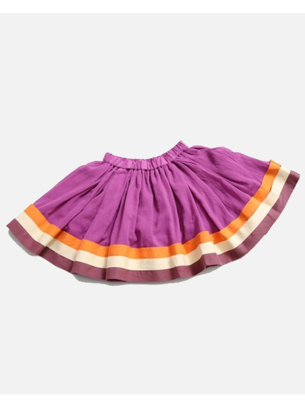 Stacked Ribbon Tabasco Skirt