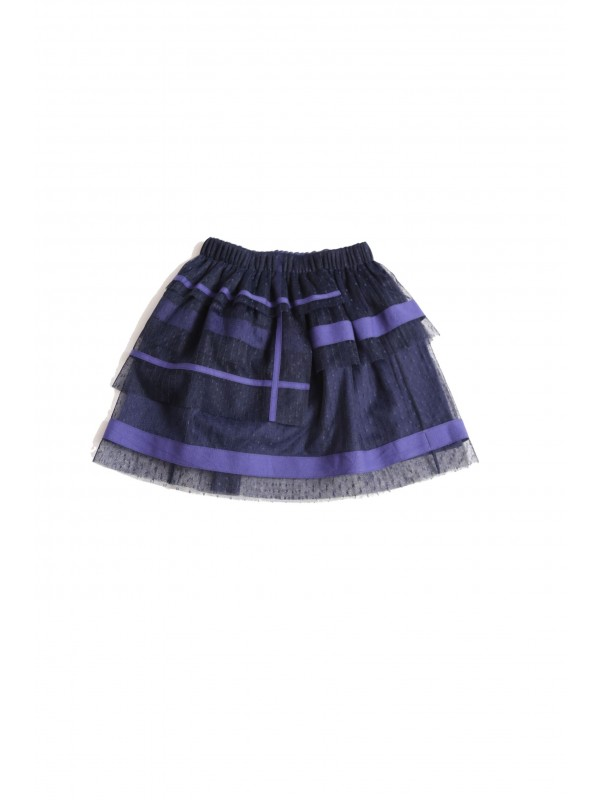 Multi Tiered Ribbon Skirt