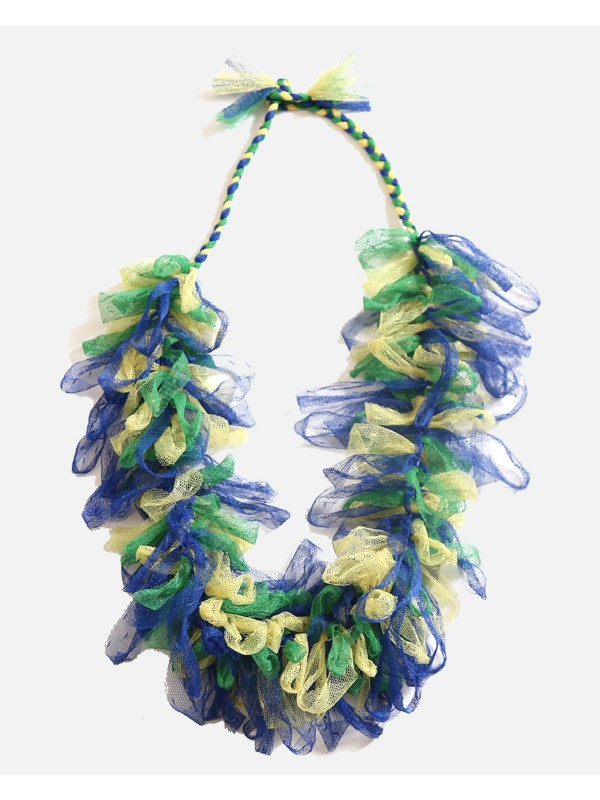Tulle Fringe Necklace