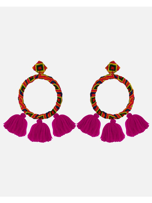 Sandra Earrings Multi