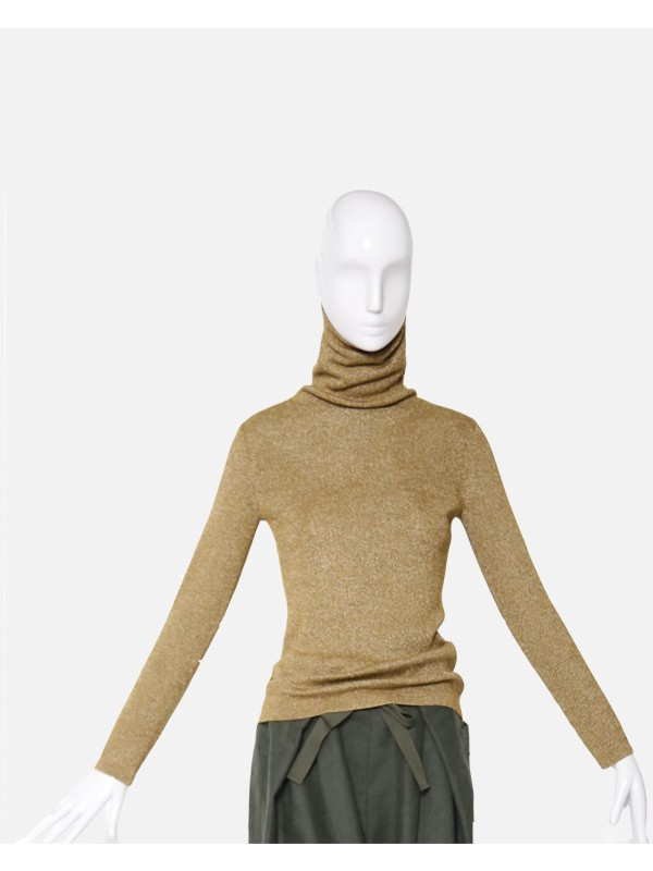 Classic Ribbed Turtleneck